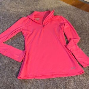 Hot pink Under armour cold gear top